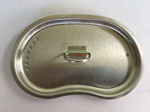 VENTED STAINLESS STEEL CANTEEN CUP LID FOR G.I. ISSUE CANTEEN CUP.
