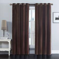 """Velvet Grommet Panels (Pair) 100% Polyester Curtain ( 108""""X84"""" for 2 panels)"""