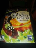 COMPLETE - Nightmare Before Christmas Oogies Revenge - Sony Playstation 2 PS2