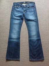 Pre-Owned 7 For All Mankind Bootcut Ladies Jeans Size 28