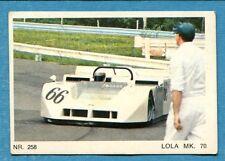 MOTO - Ed. Raf - Figurina/Sticker n. 258 - LOLA MK 70 -Rec