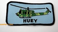 UH-1 HUEY COLLECTOR TAB PATCH US NAVY MARINE ARMY USAF HELICOPTER PIN CAMO PILOT