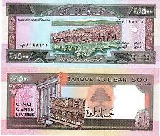 Liban Lebanon Billet 500 Livres 1988  Beyrouth NEUF UNC