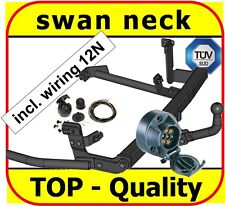 Towbar & Electric 12N Peugeot 806 Expert I 1994 to 2001 1994 to 2006 / swan neck