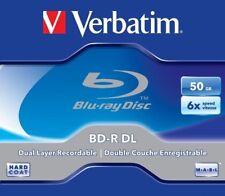 1 Verbatim Rohling Blu-ray BD-R Dual Layer 50GB 6x Jewelcase