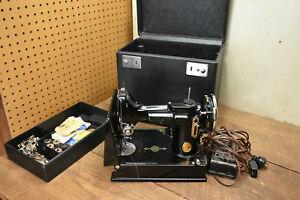 Vintage Singer Featherweight Sewing Machine 221-1