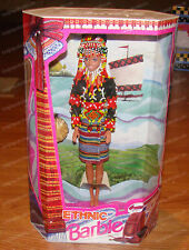 Ethnic Barbie (1994 Matel, 61369) Hand-Woven, Beaded Fashion, Ancestral Filipina