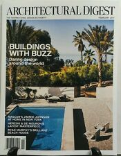 Architectural Digest Feb 2017 Buildings With Buzz Daring Design FREE SHIPPING sb