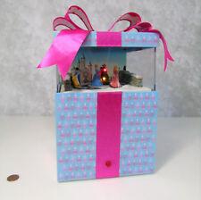 Disney Princess Christmas Magic Music Box Present Decor Motion Lights by Gemmy