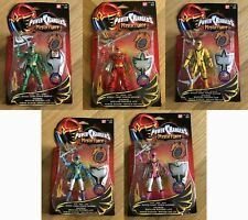Power Rangers Mystic Force Light Full Team Red Green Yellow Blue Pink NEW SEALED
