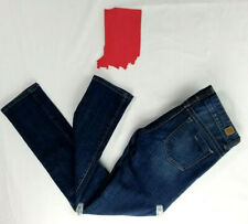GUESS Daredevil Skinny Distressed Medium Wash Jeans Size 28