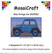 MosaiCraft Pixel Craft Mosaic Art Kit 'Blue Vintage Car' Pixelhobby