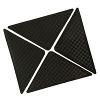 4x Teppich Teppich Matte Greifer Rutschfeste Anti Skid Wiederverwendbare Wasc SX