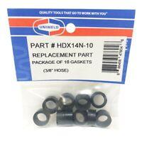 Uniweld Hose Gasket Kit (10 Pcs). Hdx14n-10