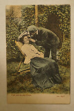 Can you See any Green - Vintage - Collectable - Postcard.