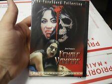 Female Vampire (Jess Franco 1975)  DVD Image Entertainment RARE OOP sealed
