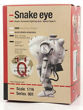 Max Factory Maschinen Krieger Snake eye 1/16 Action figure Boroon Ghosh