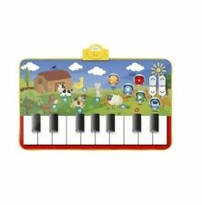 NEW Carousel Children's Musical Piano Play Mat with Farm Yard Animal Sounds