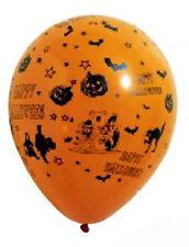 8 ballons de baudruche orange Halloween ø 29cm [gbt1209org] decoration de salle