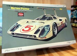 EIDAI 1:20 SCALE BERTONE PANTHER MODEL - ASSEMBLED WITH BRM MOTOR  (QTY 1)