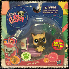 NEW Littlest Pet Shop German Shepherd Dog Puppy  #1800 Prized Pets w/ 1 FREE PET