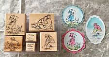 Stampin Up Summer By the Sea Rubber Stamp Set Sketches Beach Watercolor