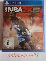 NBA 2K15 PlayStation 4 NEU PS4