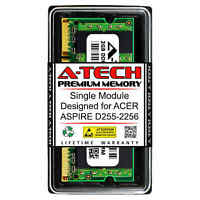 2GB PC2-5300 DDR2 667 MHz Memory RAM for ACER ASPIRE D255-2256