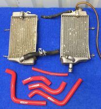 2000 CR125R OEM Genuine Radiator Set Left Right w/ Cap & Hoses Engine Cooling