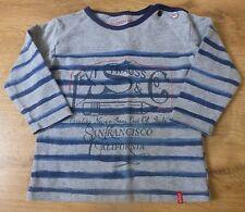 """Levi's***T-shirt imprimé 6 mois 68 cm gris et bleu """"California"""""""