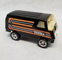 Vintage 1979 Tiny Tonka Black Custom Van #941