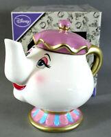Disney Madame Pottine Teekanne Mrs Potts Die Schöne und das Biest Deko Figur Neu