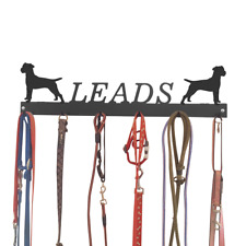 Patterdale Terrier Dog Metal Lead Hooks