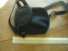 Camera Bag Small - With Shoulder Strap - Black Excellent Condition