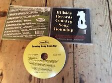 Hillside Records Country Song Roundup 2009 Cd Various Artists