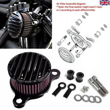Air Cleaner Intake Filter Kits For Harley Sportster XL883 XL1200 91-16 Aluminum