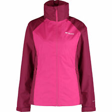 COLUMBIA Women's TAPANGA Trail Outdoor Jacket, Haute Pink/Wine Berry, size XL