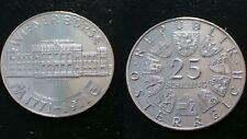 AUSTRIA / 1971 - 25 SCHILLING / SILVER COIN