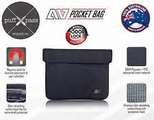 AVERT BAGS POCKET BAG - ODOR ABSORBING ACTIVATED CARBON LINING - TOBACCO POUCH