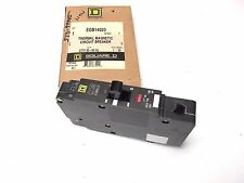 * New Square D 20A, 1P Circuit Breaker Cat# Egb14020 . L-38A