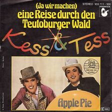 "Kess & Tess (Fancy) - Eine Reise durch den Teutoburger Wald (7"" Single 1981)"