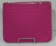 """Coach 10"""" Tablet Case - Pink Signature on Pink"""