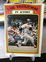 1972 Topps Carl Yastrzemski Boston Red Sox #38 Baseball Card