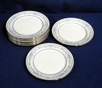 "Lenox China Reverie Platinum Trim 8 Bread and + Butter Dessert Plates 6-1/2"""
