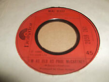 "MIKE BERRY "" I'M AS OLD AS PAUL MCCARTNEY "" 7"" SINGLE 1980 VG"