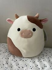 Squishmallow 12� Ronnie the Brown Cow Easter 2021 New with tags