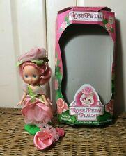 Vintage 1984 Kenner Rose Petal Place Doll ~ Rose Petal ~ Box