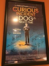 The Curious Incident of the Dog in the Night-time Broadway Signed Poster