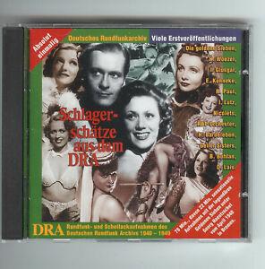 CD Schlagerschätze aus dem Deutschen Rundfunkarchiv 1940-1949 Schellackaufnahmen