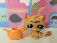 ~♥~Littlest Pet Shop ~♥~#1608 Orange Striped Tiger Cat Watering Can